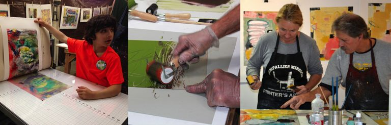Come Make A Print: An Open Monotype Session For All Ages