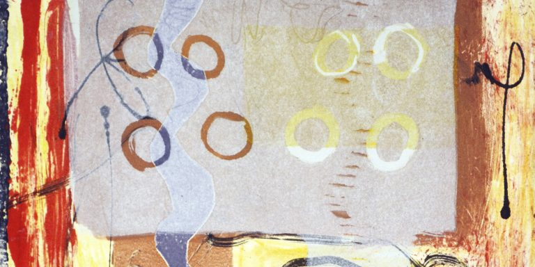 Using a Veil and Textures with Monotype- Jan 7 Video