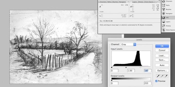 Photoshop Prep for Photopolymer Platemaking